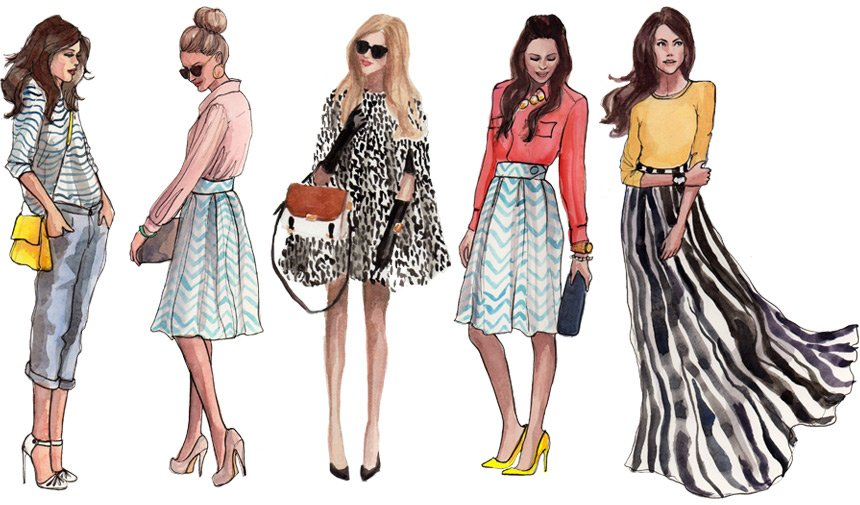 Different Types Of Lines In Fashion Designing : Dress for success murrieta day spa hair studio
